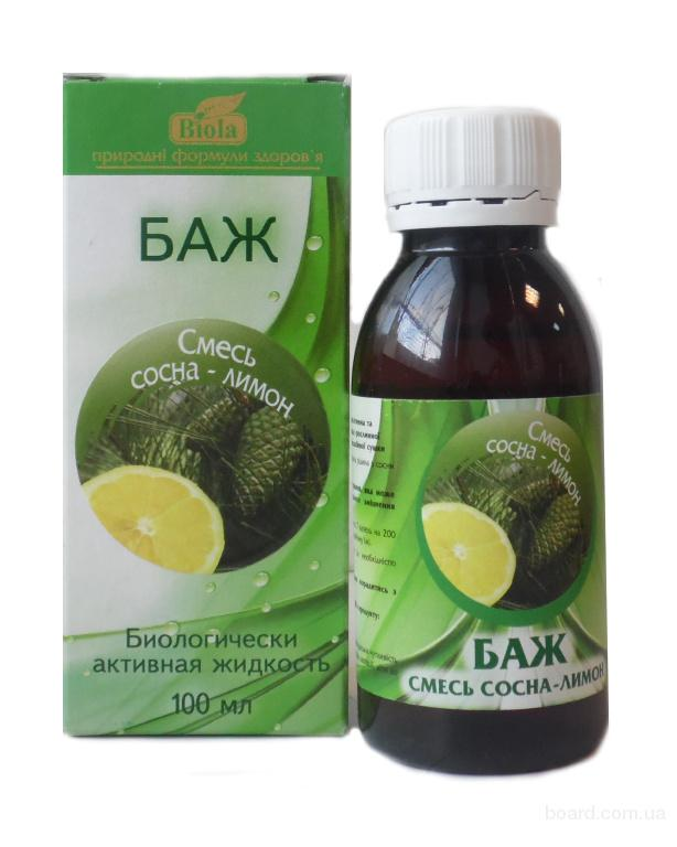 """БАЖ """"Смесь сосна-лимон"""" против вирусных заболеваний"""