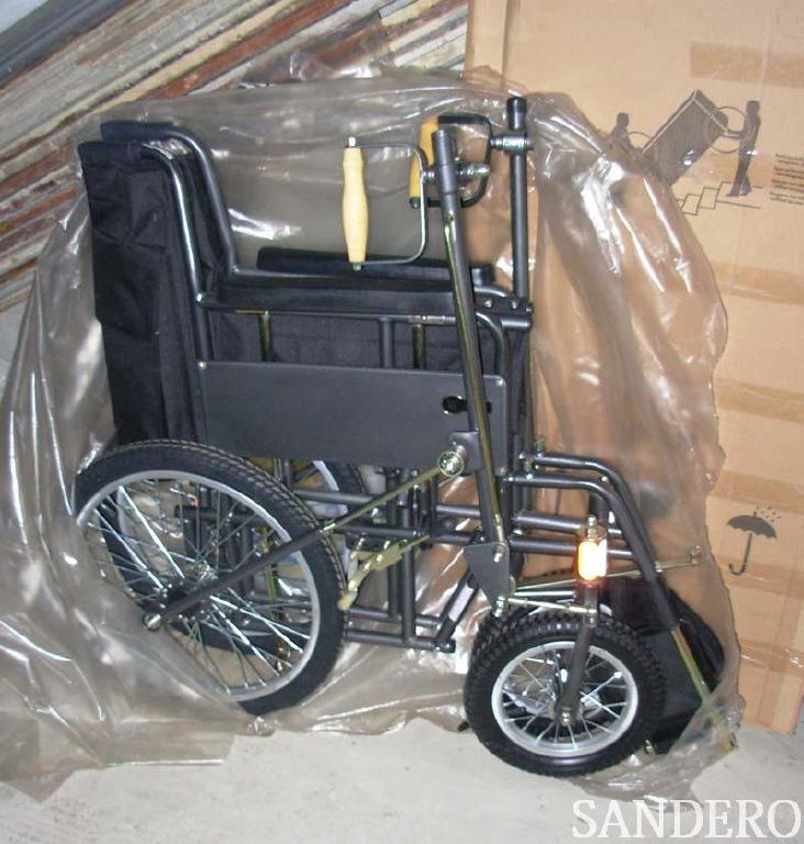 Коляска инвалидная ДККС