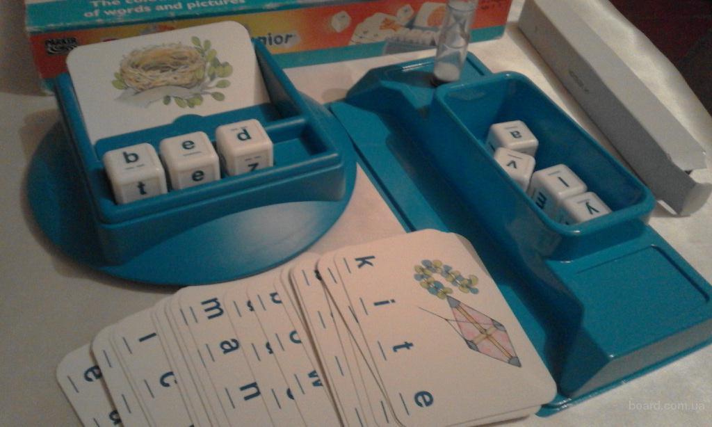 Занимательная англоязычная игра Boggle junior