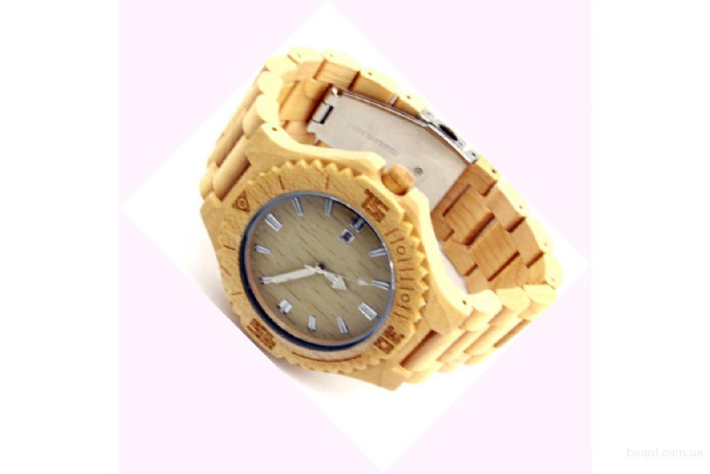Деревянные наручные часы Maple Classic