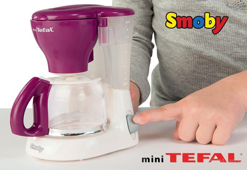 Интерактивная игрушечная Кофеварка Mini Tefal Smoby 310506
