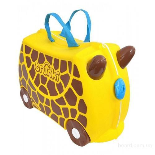 Чемодан детский на колесах Жираф Джери Trunki TRU0265