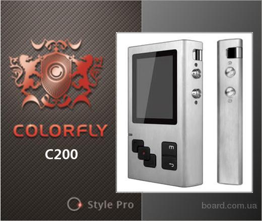 Colorfly C200 новые портативные Hi-Res players, цвет - серебристый