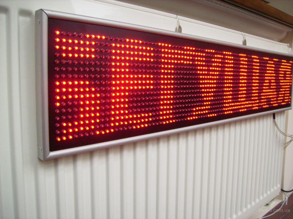 LED-панель «бегущая строка» 1000х200 мм
