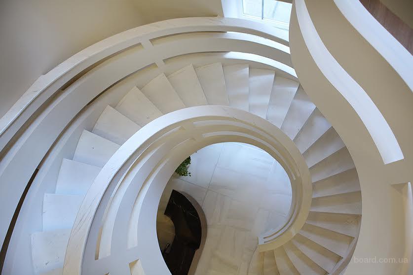 Изготовление бетонных лестниц от СПС-БУД