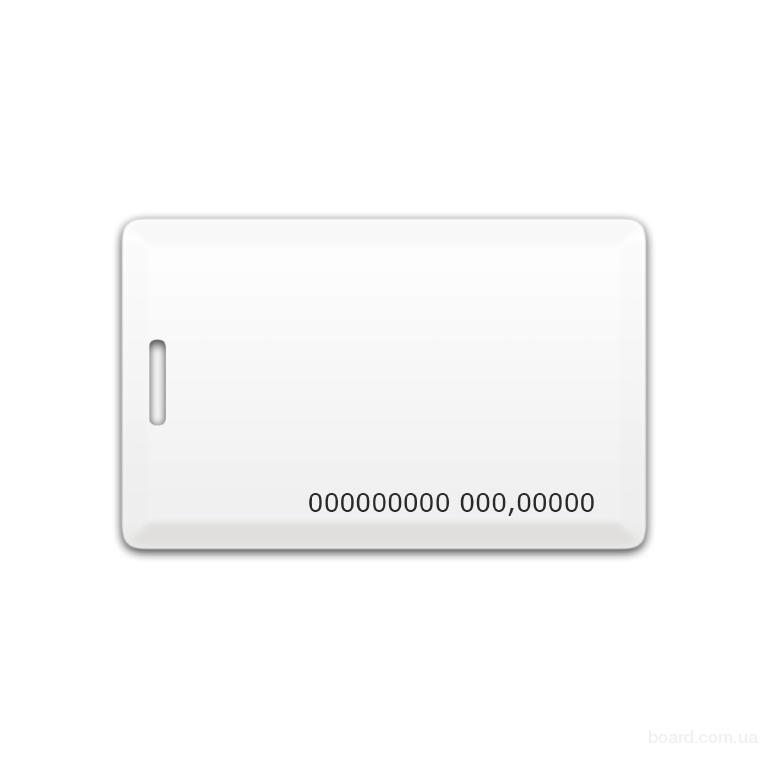 Бесконтактная пластиковая карта с чипом EM-Marine Clamshell