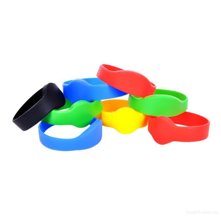 Бесконтактный водонепроницаемый цельносиликоновый RFID–браслет с чипом