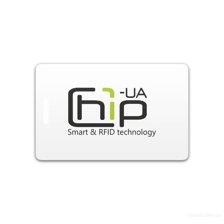 Бесконтактная пластиковая RFID-карта с полноцветной печатью с чипом