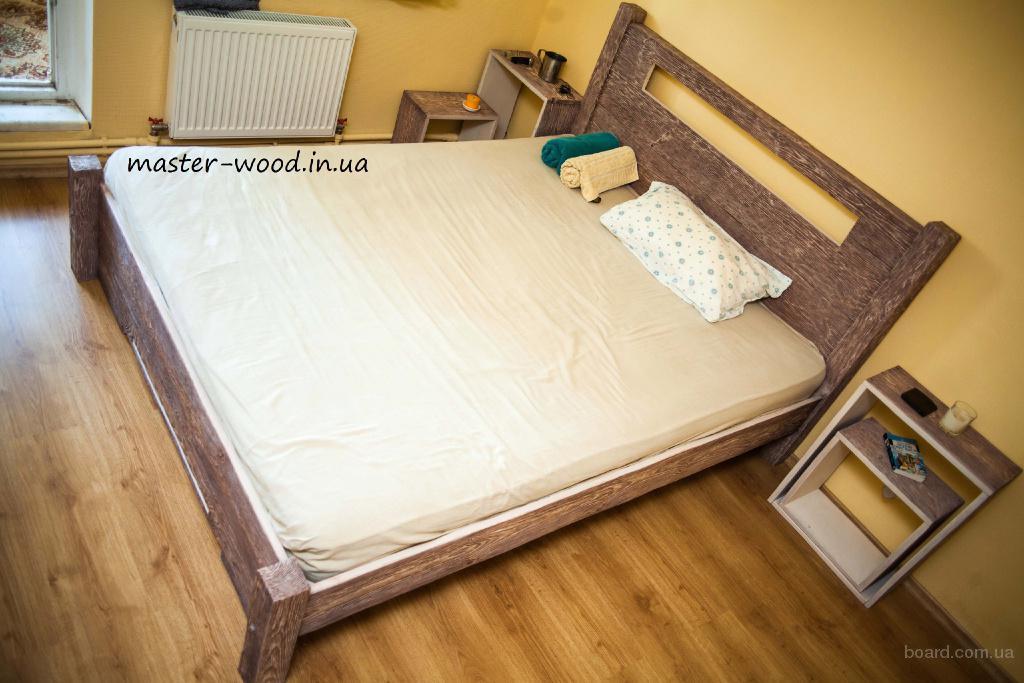 Двуспальная кровать ручной работы Киев