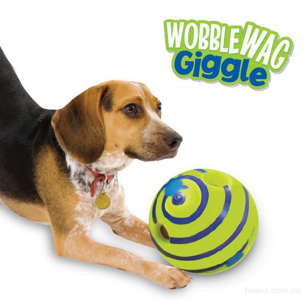 Мячик для собаки Wobble Wag