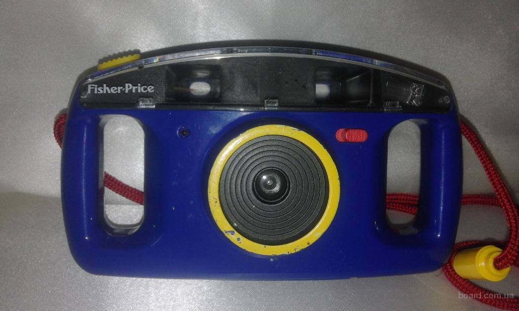 Детский пленочный фотоапрарат Fisher-Price Perfect Shot camera