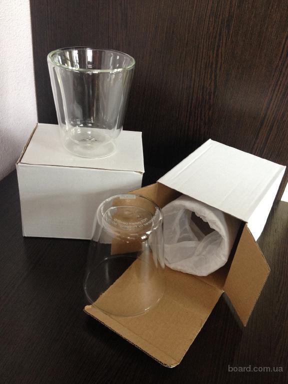 Кофейные стаканы  bodum double wall