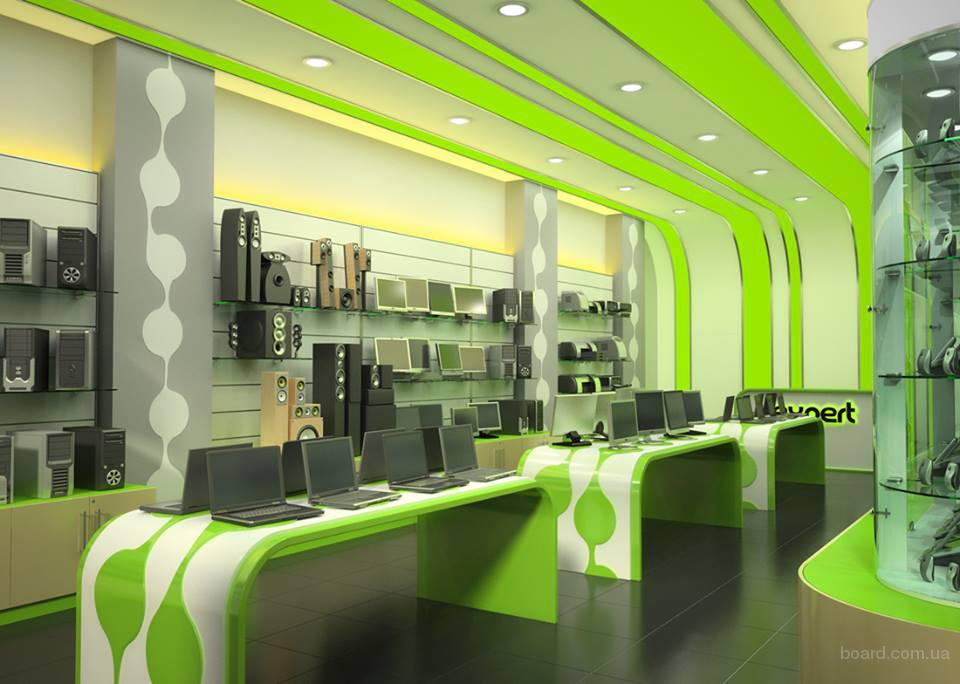 Дизайн магазина, салона