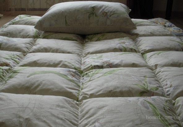 Чистка пуховых подушек и одеял в Донецке.