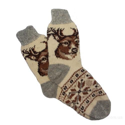 Теплые шерстяные носки ручной вязки в интернет-магазине шерстяных носков в Москве