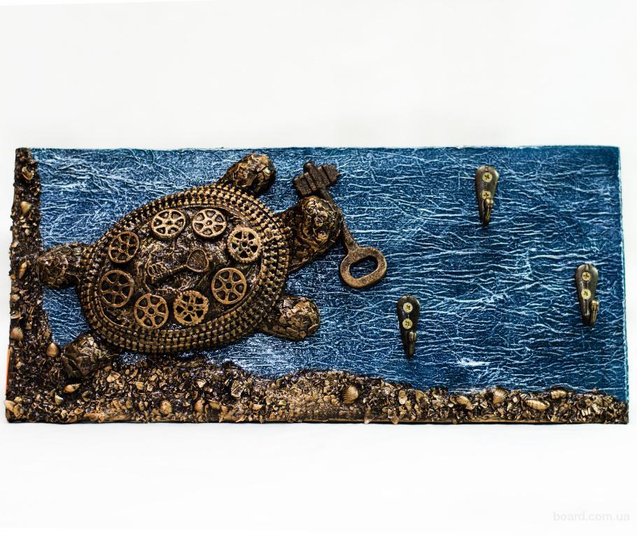 Прикольная черепаха ключница. Подарки ручной работы в Украине.
