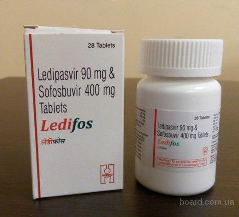 Продам лекарства от Гепатита С.Ledifos,Hepcinat LP