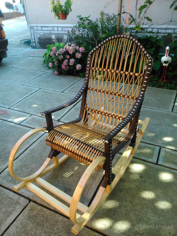 Кресло-качалка (буковый каркас) ручная работа