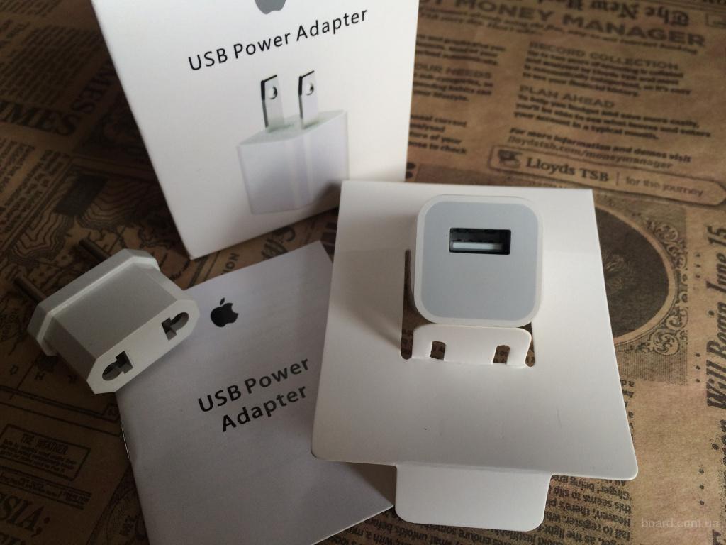 Зарядка iPhone 4/4s/5/5s/6 СЗУ зарядной блочек кубик айфон 5 оригинал