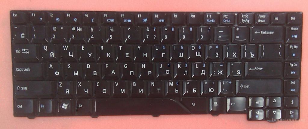 Клавиатура Acer eMachines E510 Новая рус