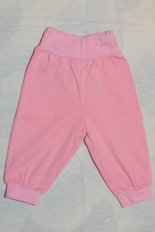 Штанишки (штаны, брюки) ТМ Бемби, р.74, розовые, в отличном состоянии