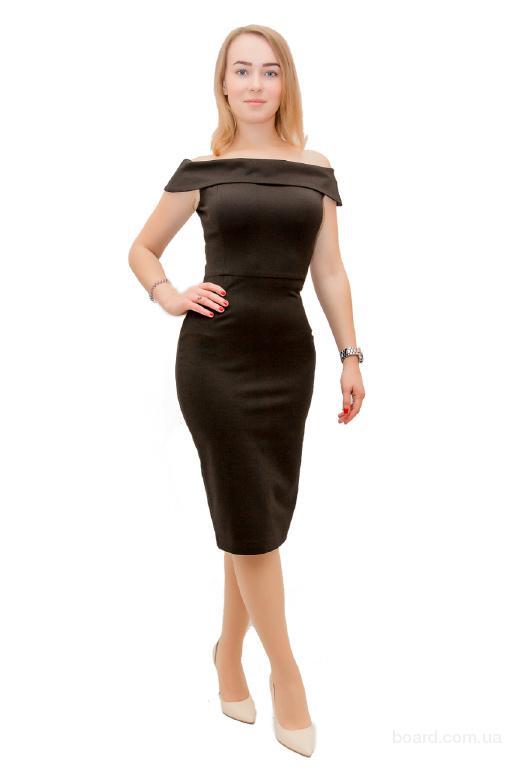 Платье Шик 1 черное
