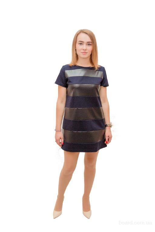 Платье синие Параллель