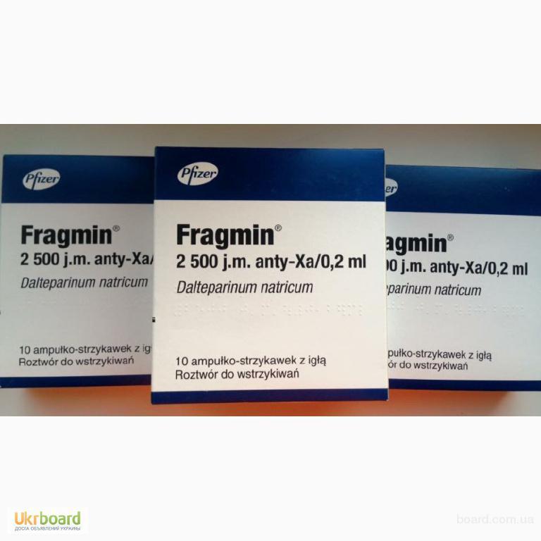 Фрагмин 2500 МЕ / Fragmin / Фрагмін / Далтепарин натрия