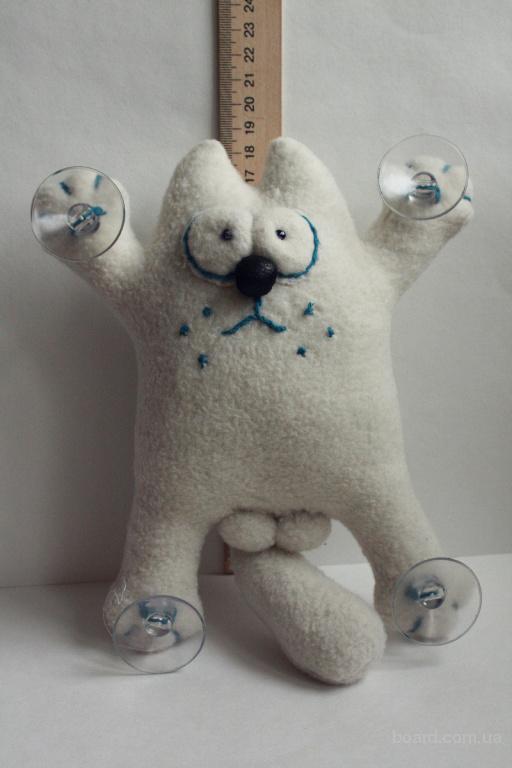 Кіт з шарами ручна робота