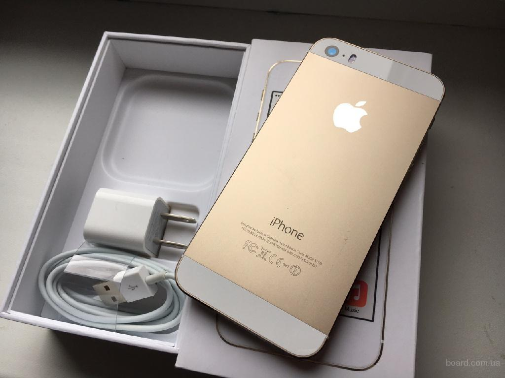iPhone 5S Gold 16 Gb Neverlock