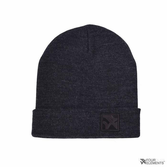 Новая шапка 4 Elements, цвет Dark Grey (темно серая), р. универсальный
