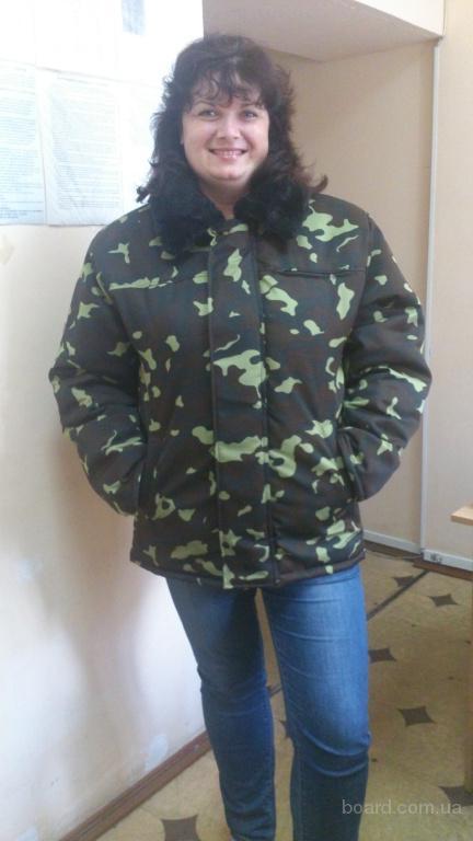 куртка утепленная с меховым воротником под заказ,спецодежда на синтапоне, удобная спецодежда