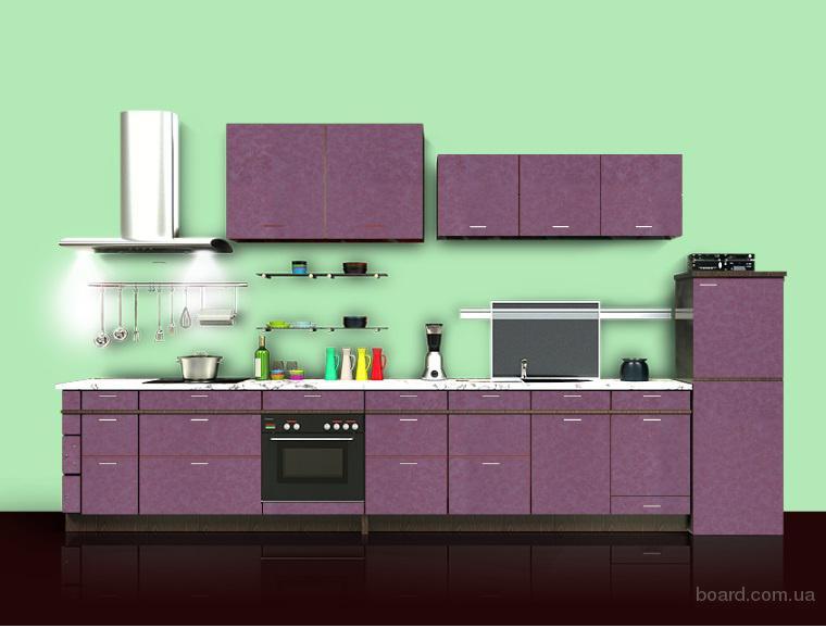 Шпонированные кухонные фасады без аванса
