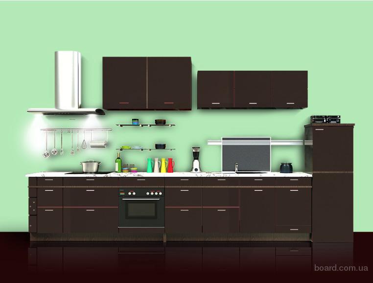 Кухонный щит шпонированный в Киеве без посредников от Dekori-Elite