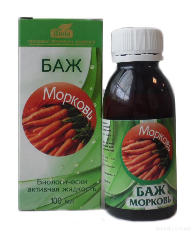 БАЖ «Морковь» улучшает свойства памяти и зрение
