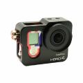 Алюминиевый корпус (бокс, рамка) для GoPro 4! Новий! Siliver, Black 4