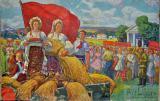 Куплю картины и плакаты времен СССР