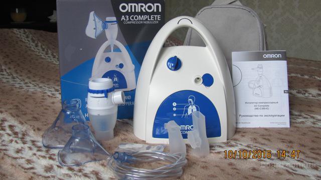 реализуем компресорный ингалятор Omron 300 за 1650 грн