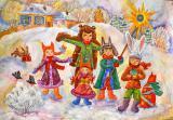 Закарпатье на Рождество из Киева, автобусный тур Буковель Рождество, Карпаты из Киева на Рождество недорого