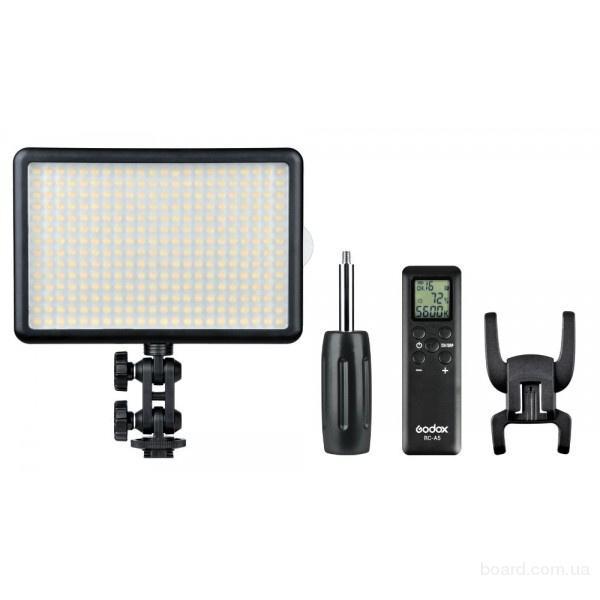 "Видео свет ""LED-308C"" (5600К-3200К с диммером)"