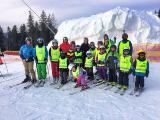 Занятия и тренировки на сноуборде, горных лыжах, фристайл и даже сноускейт для детей и взрослых