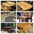 Мебель для кафе, столы, стулья лавки из дуба.