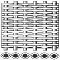 Сетка тканая нержавеющая фильтровая 12Х18Н10Т полотняное плетение