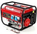 Генератор Tagred 3 кВт однофазный, ручной старт, бензиновый
