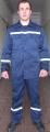 Костюм из светоотражающей полосой,куртка и брюки рабочие