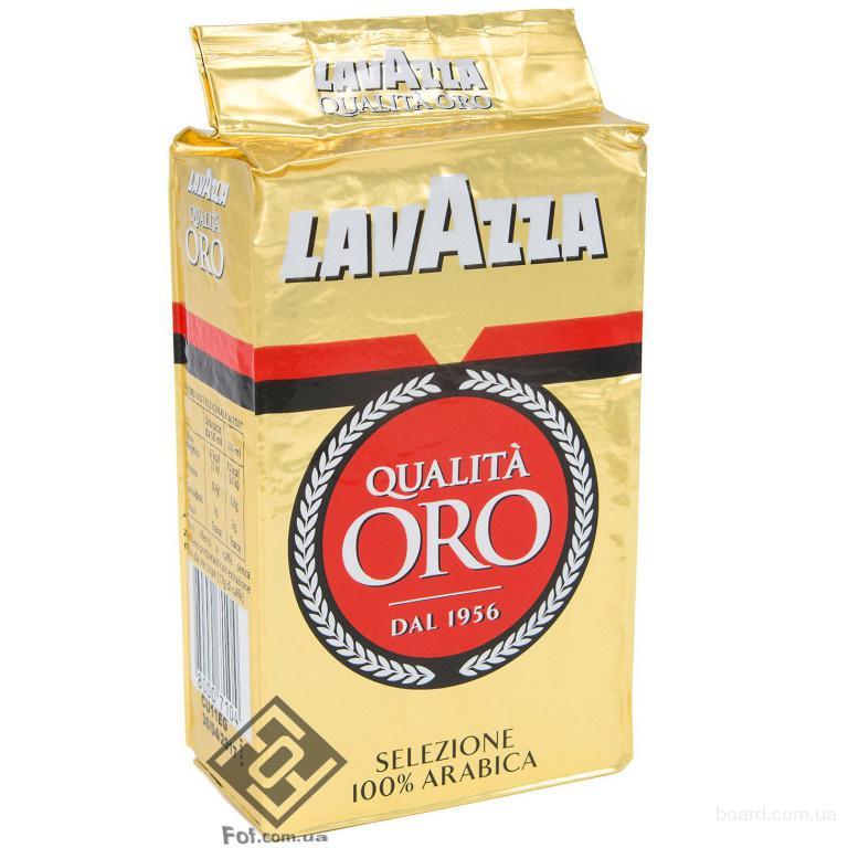 Lavazza Qualita Oro (ВРІ) кофе молотый, 250 г