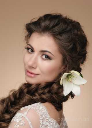 Визажист, Свадебный, Вечерний макияж, прическа