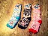 Женские Тёплые термо носки для дома подарок ко дню Святого Николая
