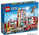 Оригинальный конструктор LEGO City Fire Пожарная часть 60110