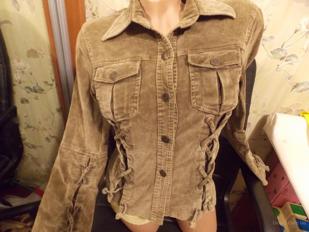 Рубашка пиджак из микровельвета